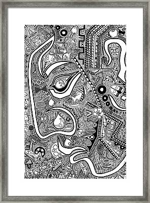 The Confrontation Framed Print by The Art Of Rido