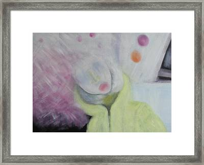 The Confused Framed Print by Min Zou