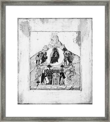 The Congregation Of The Mother Of God Framed Print