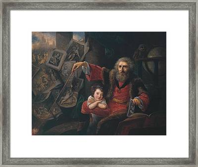 The Conjuror Framed Print by MotionAge Designs