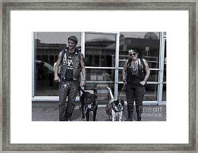 Framed Print featuring the photograph The Conners by Sandi Mikuse