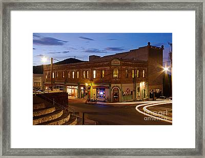 The Connor Hotel And Spirit Room Framed Print