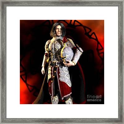 The Conqueror Framed Print by Gabor Gabriel Magyar - Forgottenangel