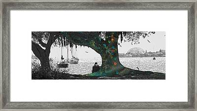 The Conscious Tree Framed Print by Betsy Knapp
