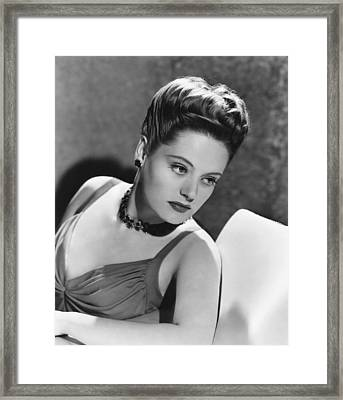 The Constant Nymph, Alexis Smith, 1943 Framed Print by Everett