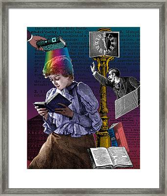 The Constant Reader Framed Print by Eric Edelman