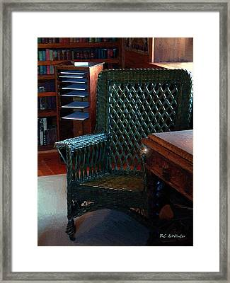 The Consulting Room Framed Print by RC deWinter