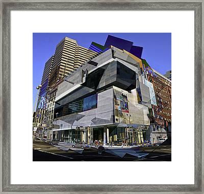 The Contemporary Arts Center Framed Print by Scott Meyer