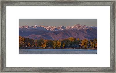 The Continental Divide Framed Print by Aaron Spong