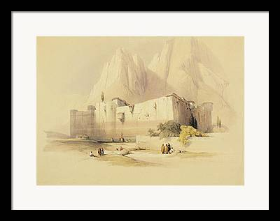 St. Catherine Monastery Framed Prints