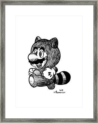 The Coon Suit Framed Print
