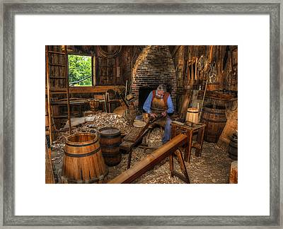 The Cooper Framed Print by Donna Doherty