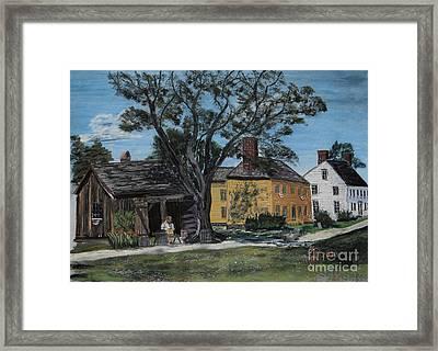 The Cooper Framed Print