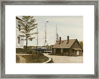 The Cooperage Framed Print by Monte Toon