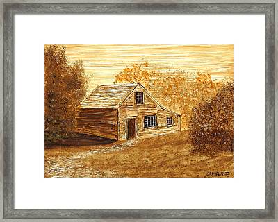 The Cooper's House Framed Print by Dan Haley