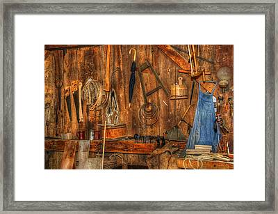 The Cooper's Wall Framed Print by Donna Doherty