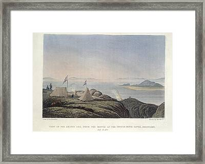 The Copper Mine River Framed Print by British Library