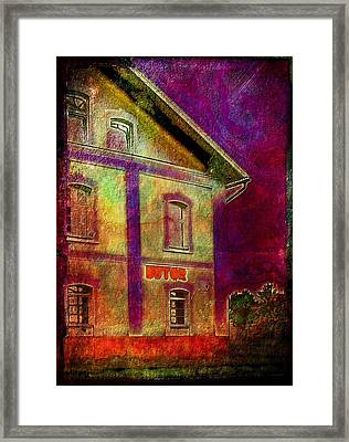The Corner Store Framed Print