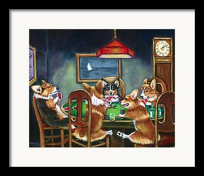 Cartoon Animals Framed Prints