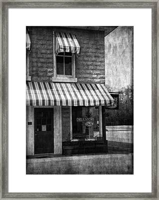 The Corner Deli Framed Print by Kim Hojnacki
