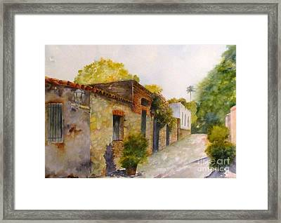 The Corner House Framed Print