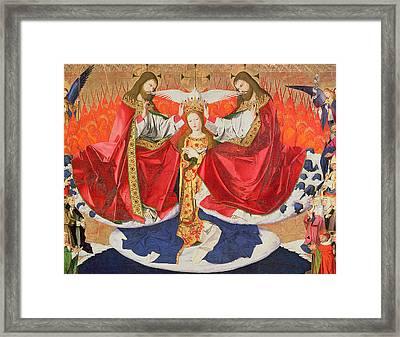 The Coronation Of The Virgin Framed Print
