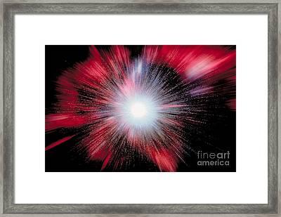 The Cosmic Big Bang Framed Print
