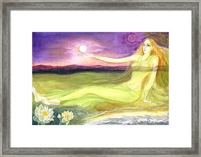The Cosmic Consciousness Framed Print by Shiva  Vangara