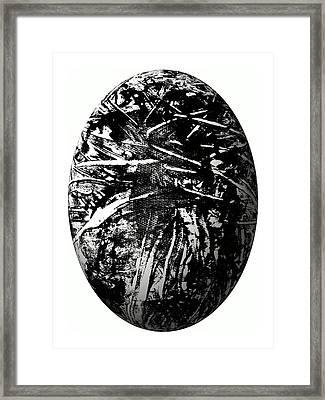The Cosmic Egg-tree Mission Framed Print