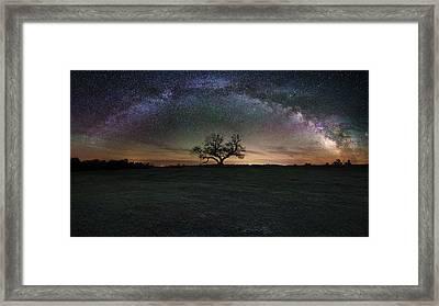 The Cosmic Key Framed Print by Aaron J Groen