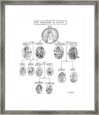 The Cosmology Of Timmy Framed Print