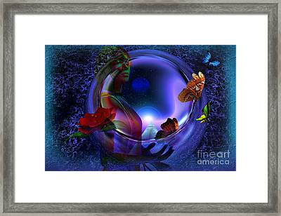 The Cosmos Framed Print by Shadowlea Is