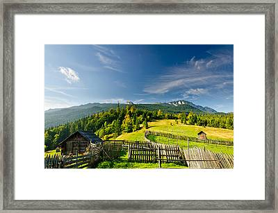 The Cottage Framed Print by MARIAN Gabriel