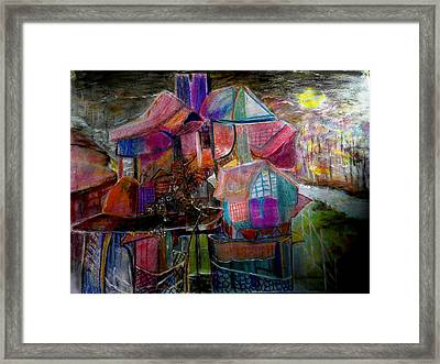 The Cottage Of The Artist Framed Print