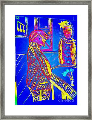Framed Print featuring the drawing The Cotton Club by Bill OConnor