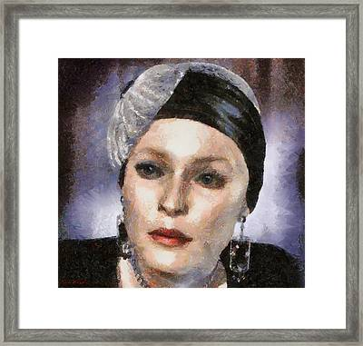 The Countess Framed Print by Tyler Robbins
