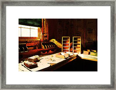 The Counting House Framed Print