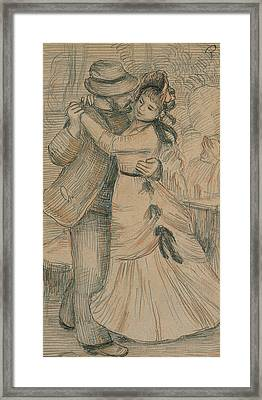 The Country Dance Framed Print
