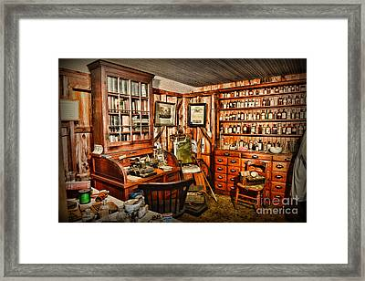 The Country Doctor Framed Print by Paul Ward