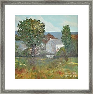 The Country House Framed Print