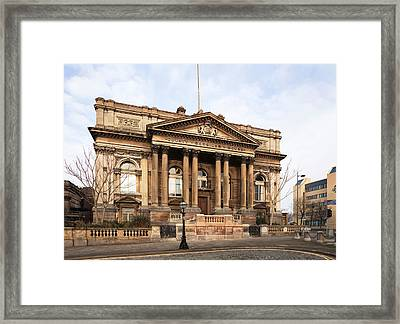 The County Sessions Courthouse Framed Print