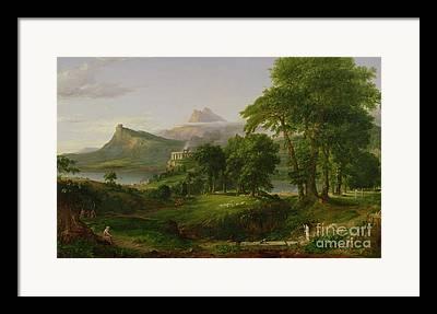 Archimedes Framed Prints