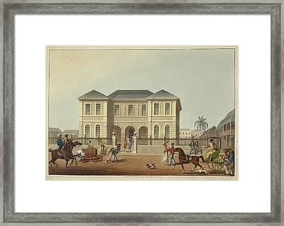 The Court House Framed Print by British Library