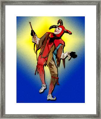 The Court Jester Framed Print