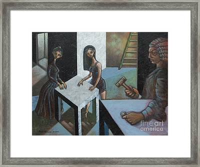 The Court Of O Framed Print by Paul Hilario