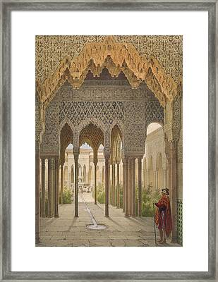 The Court Of The Lions Framed Print