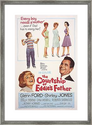 The Courtship Of Eddies Father, Top L-r Framed Print by Everett