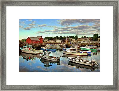 The Cove Framed Print by Joann Vitali