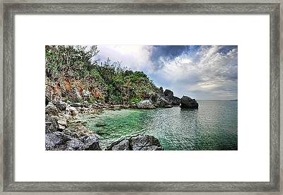 The Cove Framed Print by Ryan Wyckoff