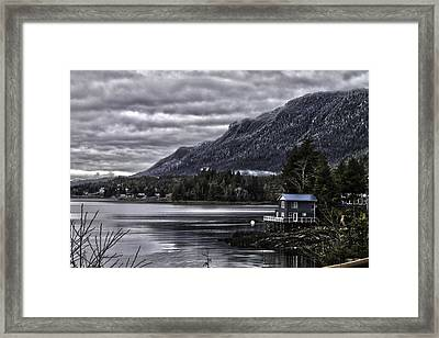 The Cove. Framed Print